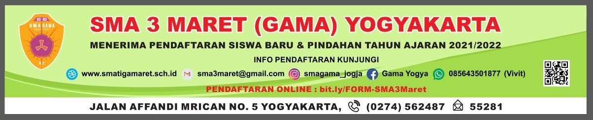 SMA 3 MARET (GAMA) YOGYAKARTA